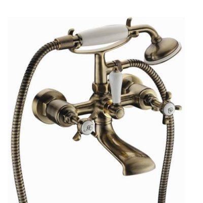 CUTHNA antiqua двухвентильный смеситель для ванны, бронза 10280 antiqua-n IMPRESE