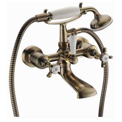 CUTHNA antiqua двухвентильный смеситель для ванны, бронза 10280 antiqua IMPRESE