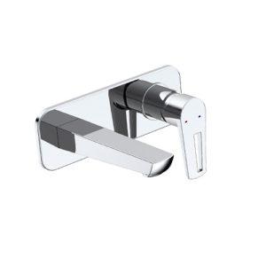 BRECLAV cмеситель для раковины (настенный), хром, 35 мм VR-05245 IMPRESE