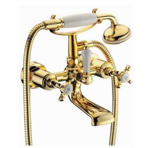 Cuthna zlato двухвентильный смеситель для ванны, золото 10280 zlato IMPRESE