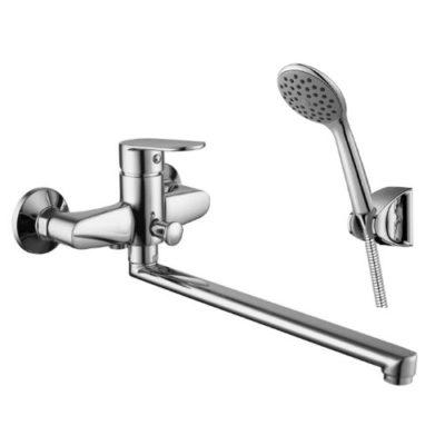 Смеситель для ванны с душевым набором IMPRESE LASKA 35040+1115+S023+W100SL1СP