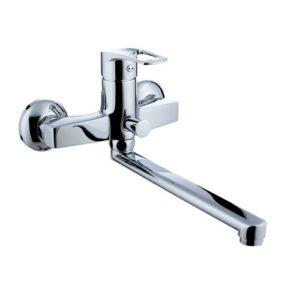 LIDICE смеситель для ванны,L-излив 23 см, хром, 35 мм 35095 IMPRESE