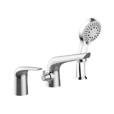 KRINICE смеситель для ванны, врезной, на три отверстия, хром, 35 мм 85110 Imprese