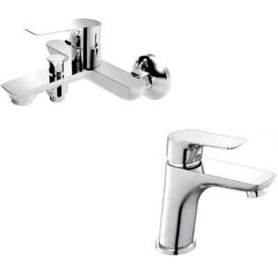 Набор смесителей для ванны IMPRESE KUCERA 10105+05105 без душевого набора