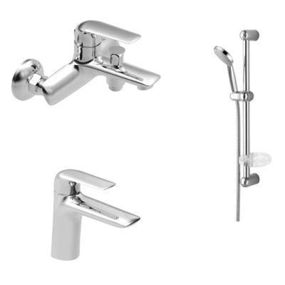 Набор смесителей для ванны IMPRESE NOVA OPAVA 10075+05075+5810001