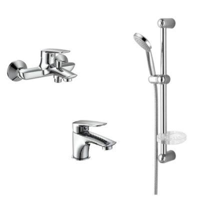 Набор смесителей для ванны IMPRESE Praha New 10030 new+05030 new+5810001