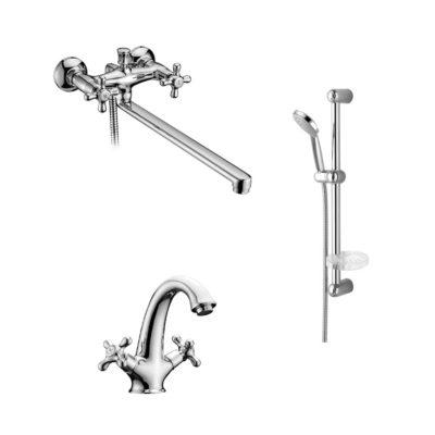 Набор смесителей для ванны IMPRESE RALSKO NEW 35240NEW+05240NEW+5810001