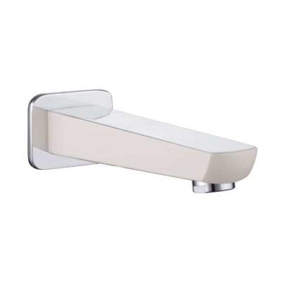 BRECLAV излив для смесителя скрытого монтажа для ванны , хром/белый Imprese VR-11245W