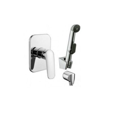 Набор (смеситель скрытого монтажа с гигиеническим душем) Imprese PRAHA new VR15030Z-ВТ
