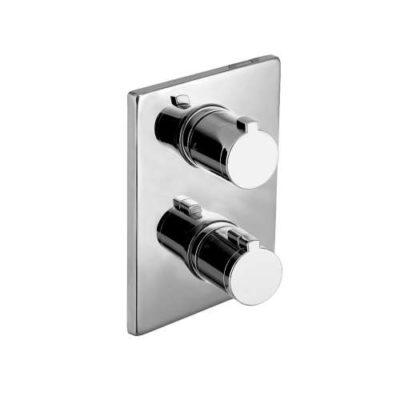 CENTRUM cмеситель для ванны, термостат, скрытый монтаж VRB-10400Z Imprese