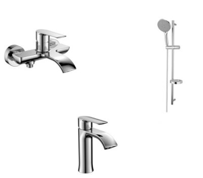 Набор смесителей для ванны IMPRESE VYSKOV 10340+05340+9014003