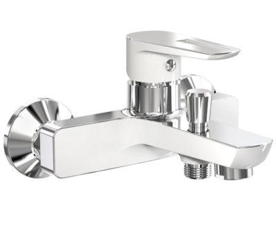 BRECLAV cмеситель для ванны, хром/белый, 35 мм 10245W IMPRESE