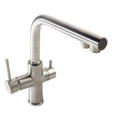 DAICY смеситель для кухни однорычажный с подключением питьевой воды, сатин 55009S-F IMPRESE