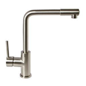LOTTA смеситель для кухни, высокий нос, сатин, 35 мм 55400 IMPRESE