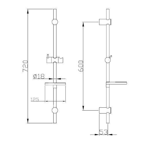 Набор (3 в 1) kit20080 , ванна kit20080 IMPRESE