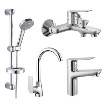 Набор смесителей для ванны Imprese kit30092